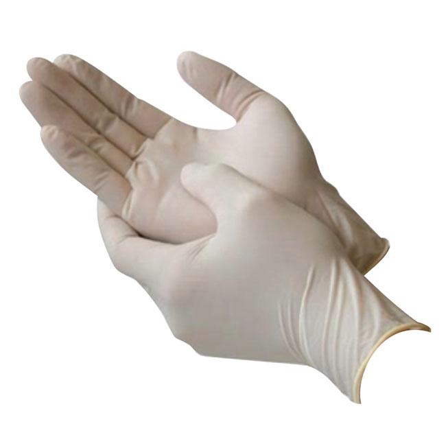 دستکش لاتکس خارجی بدون پودر  جراحی سایز Large (25جفت)